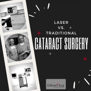 Cataract Surgery: Laser vs. Traditional